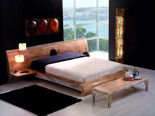 bambus bett aus bambus betten machen. Black Bedroom Furniture Sets. Home Design Ideas